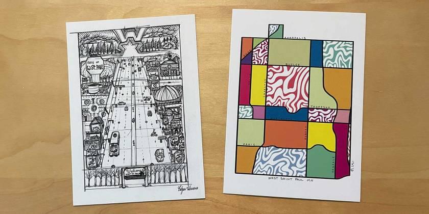 West St. Paul postcards