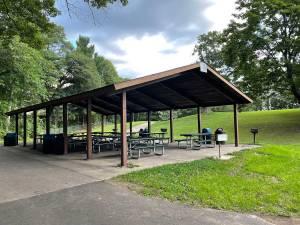 Picnic shelter at Marthaler Park