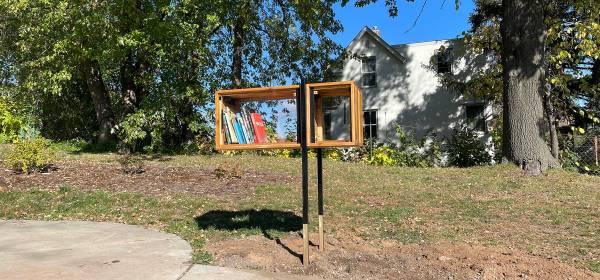 Art Park Little Free Library in West St. Paul